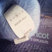 First time with Rowan alias le dieu de la laine), pressure!!! Il va falloir potasser tout ça...