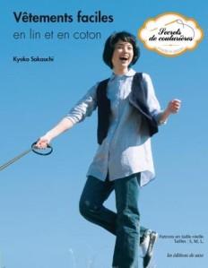 Vêtements faciles en lin et coton de Kyoko Sakauchi