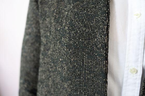 veste Gisèle de République du Chiffon en lainage par le coussin du singe