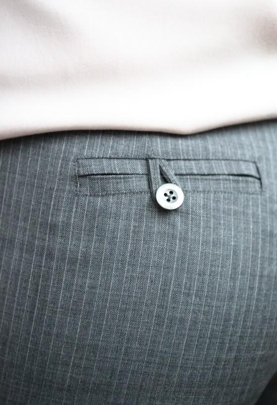 Pantalon Maurice de République du Chiffon par le coussin du singe