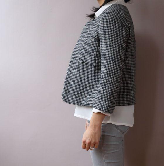 Coco Jacket de Schnittchen patterns par le coussin du singe