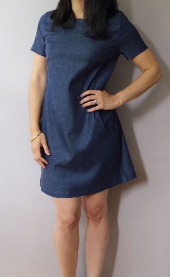 Robe Xerea en Denim