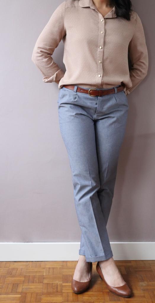 pantalon Fusain de Blousette Rose- le coussin du singe