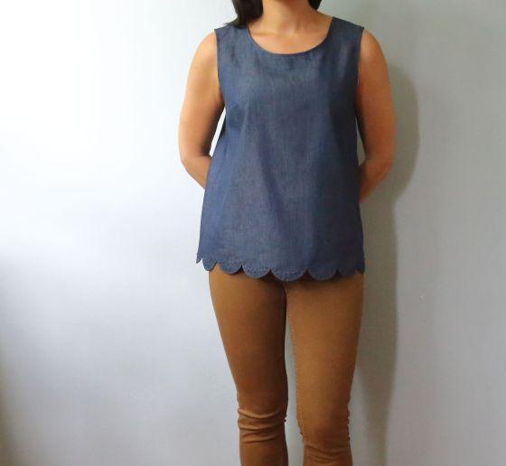 blouse Mirabelle d'Eglantine et Zoé- le coussin du singe